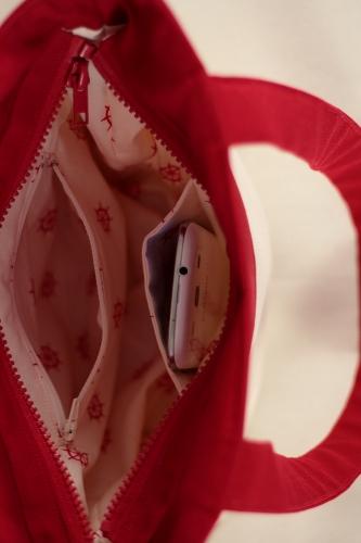 Patron de sac Annie poches intérieures
