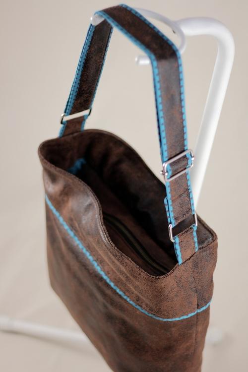 patron couture sac simili cuir