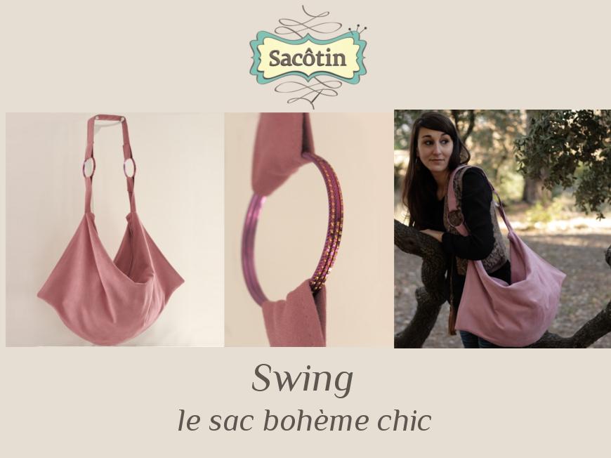 Swing patron sac Bohème