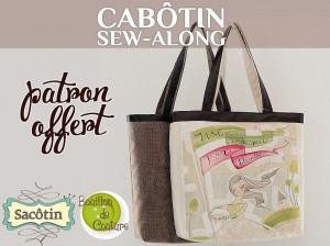 Sew along sac cabas