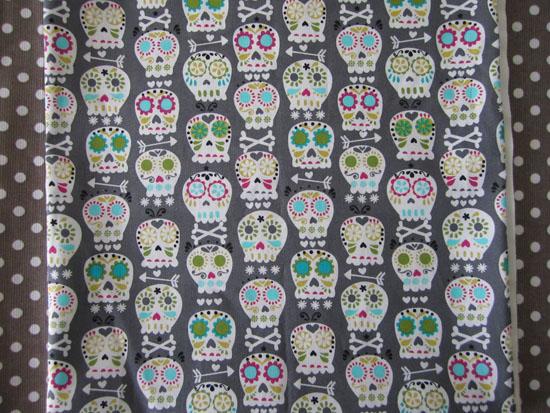Bonehead - Michael Miller fabric