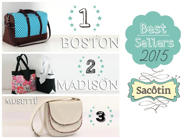 BESTSELLERS 2015 SACOTIN