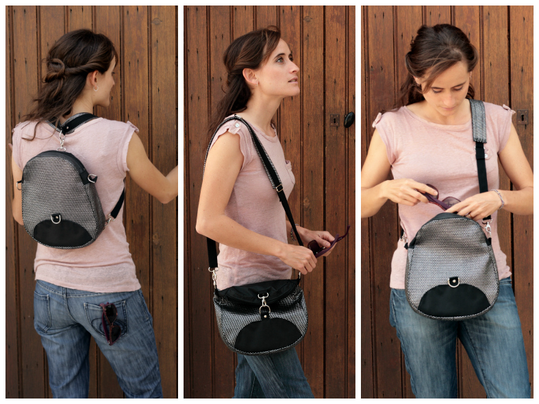 Petit Limbo convertible backpack pattern : 3 styles