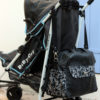 removable strap to hang the bag to a stroller