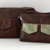 Large left - Medium right - Zip-Zip Messenger bag pattern