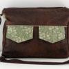 Zip-Zip compartmentalized messenger bag front