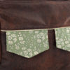 Front flap - Zip-Zip messenger bag