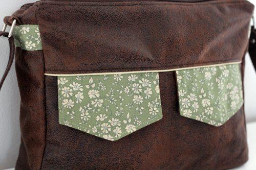 Rabats poches devant - Besace Zip-Zip Sacôtin