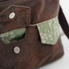 Front inseam pocket