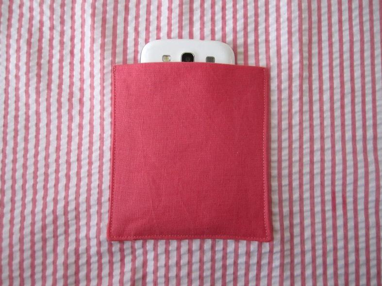 Tuto poche pour portable