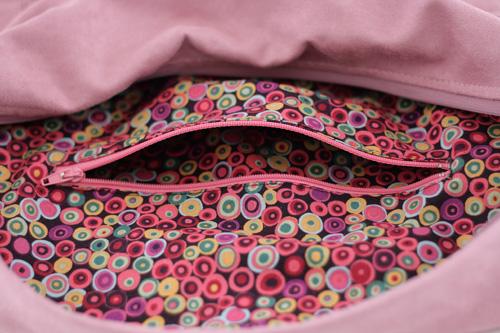 Poche zippée intérieure - Zippered pcket