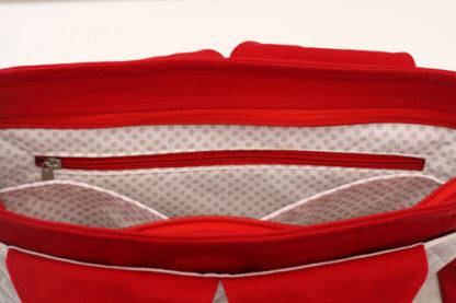 Sac Foxtrot poches intérieures : une zippée et une compartimentée