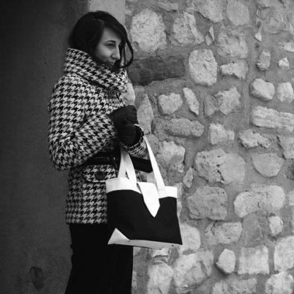 Madison bag worn by Céline