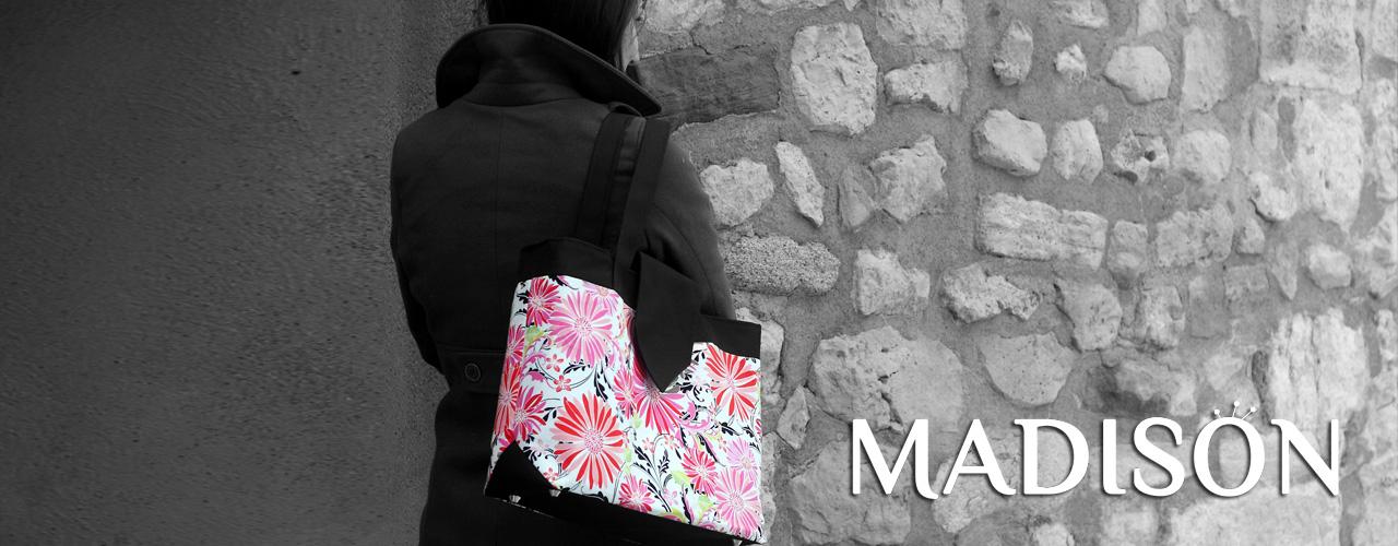 Grand Madison bag worn by Céline