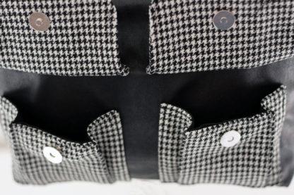 Bolero front pockets - sacotin
