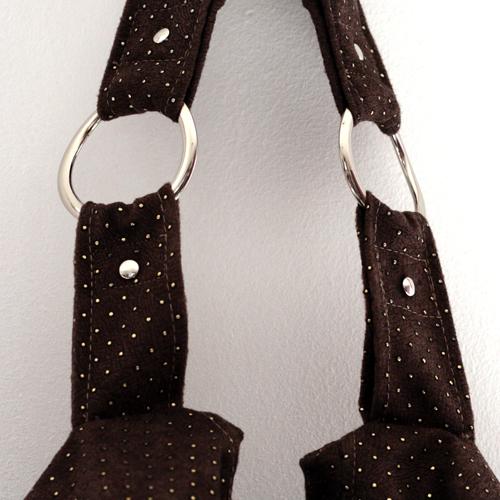 Swing boho bag - bag rings