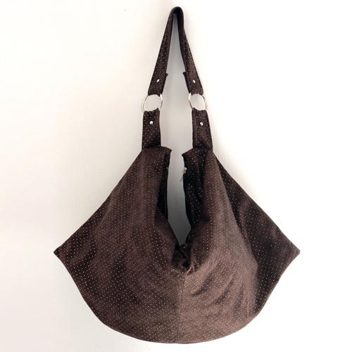 Swing boho bag - Studded Suede