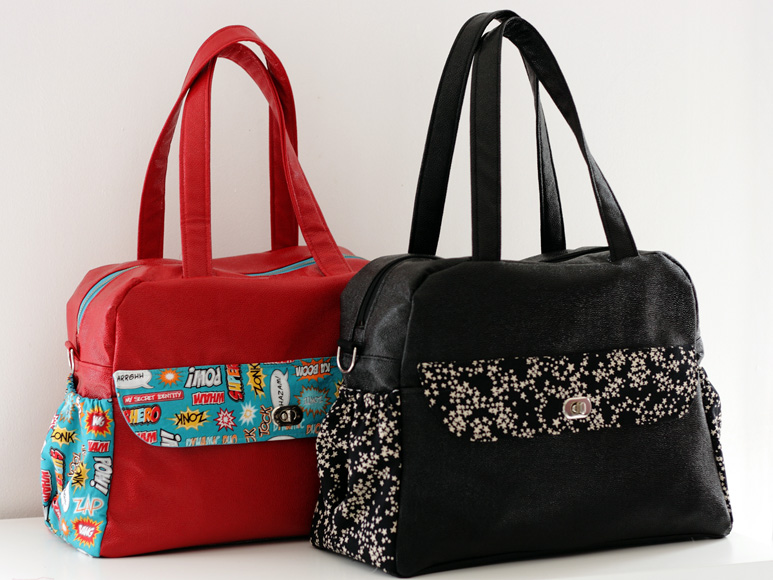 Diaper bag pattern Sacotin