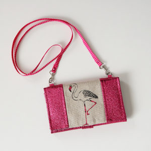 Removable strap - Complice wallet pattern - Sacôtin