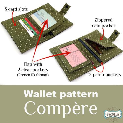 Wallet pattern Sacôtin