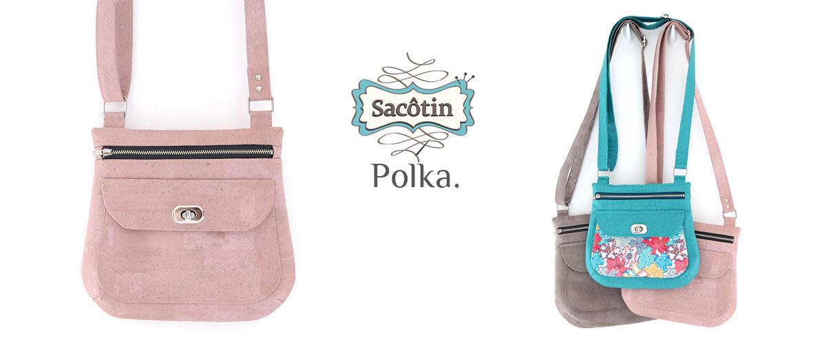 Patron sac Polka Sacôtin